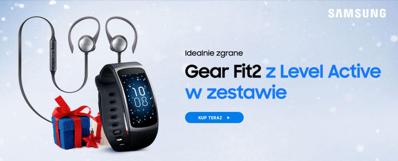 Tabletowo.pl Fajna promocja dla aktywnych: Gear Fit 2 w zestawie z Level Active Akcesoria Promocje Samsung Tizen Wearable