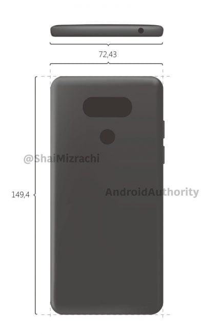 Pierwsza grafika LG G6 - żeby zyskać przewagę nad Samsungiem Galaxy S8, smartfon może mieć premierę w lutym 24