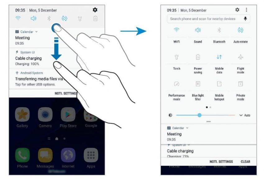 Tabletowo.pl Potwierdzone: Android Nougat dla Samsunga Galaxy S7 i Galaxy S7 Edge już w styczniu Aktualizacje Android Samsung Smartfony