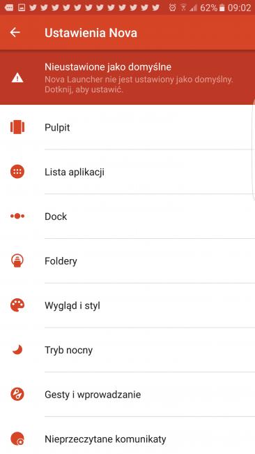 Tabletowo.pl Super promocja na Nova Launcher Prime w Sklepie Play Aplikacje Promocje