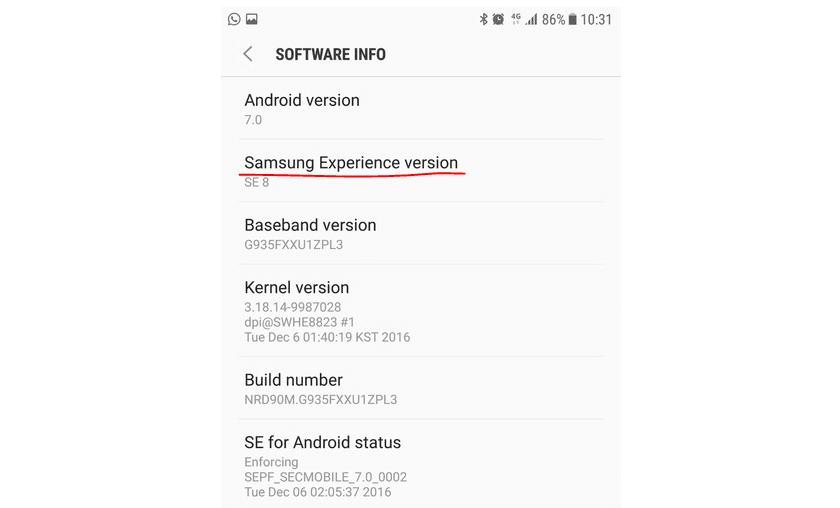 Tabletowo.pl Samsung Experience zamiast TouchWiz - Samsung zmienia nazwę swojej nakładki ekranowej Android Oprogramowanie Samsung Smartfony