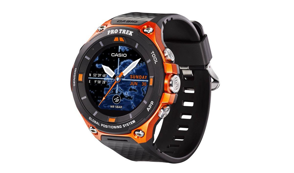 Nowy zegarek Casio jednym z pierwszych z Android Wear 2.0 oraz z GPS i mapami offline 20