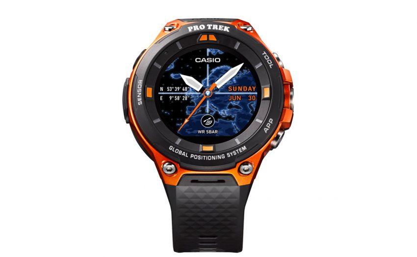 Tabletowo.pl Nowy zegarek Casio jednym z pierwszych z Android Wear 2.0 oraz z GPS i mapami offline Android CES 2017 Nowości Wearable
