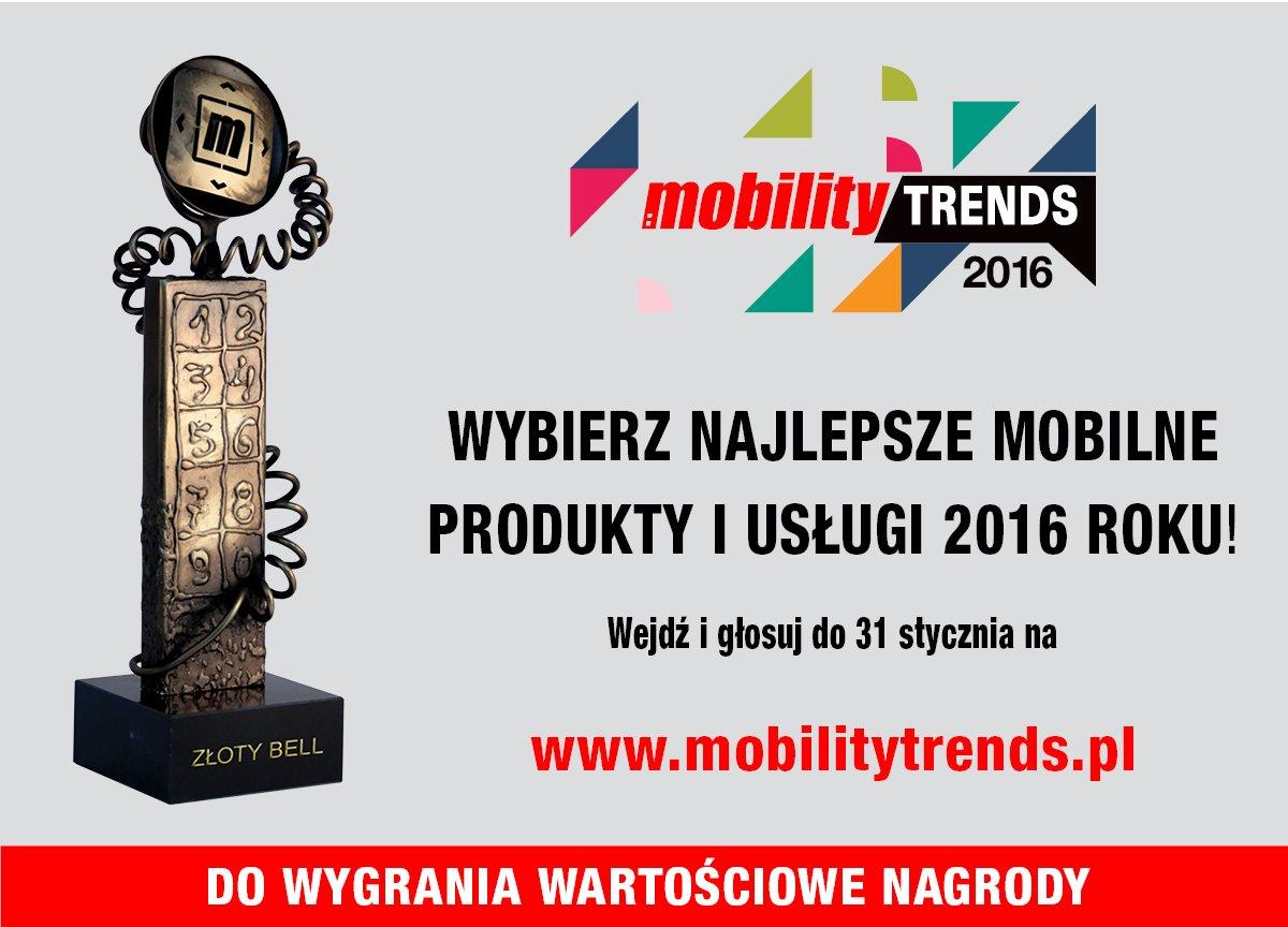 Głosuj w plebiscycie Mobility Trends 2016 i wygrywaj nagrody 18