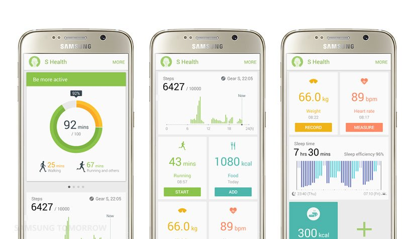 Już niedługo dzięki S Health będzie można skontaktować się z lekarzem za pomocą internetu 18
