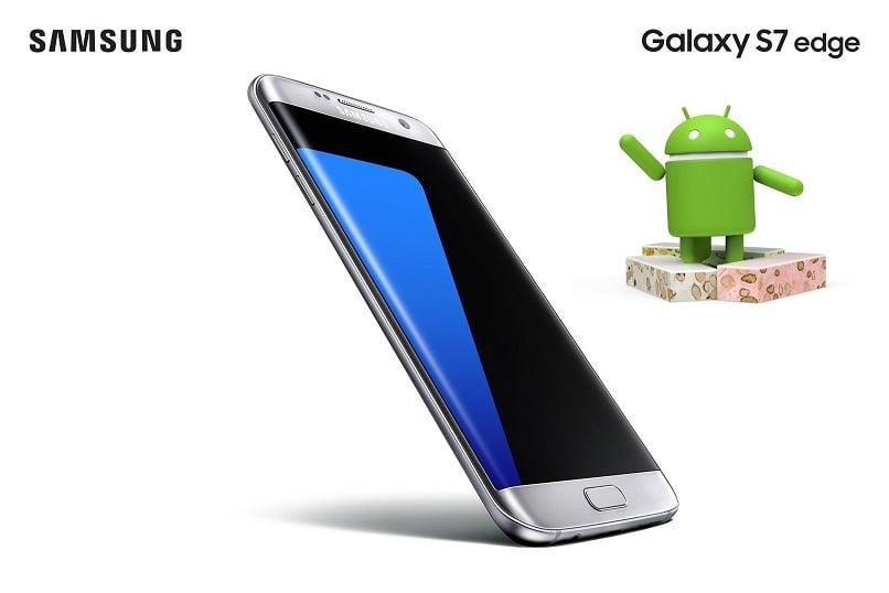 Tak, to już! Właśnie rozpoczyna się aktualizacja Samsunga Galaxy S7 oraz Galaxy S7 Edge do Androida Nougat