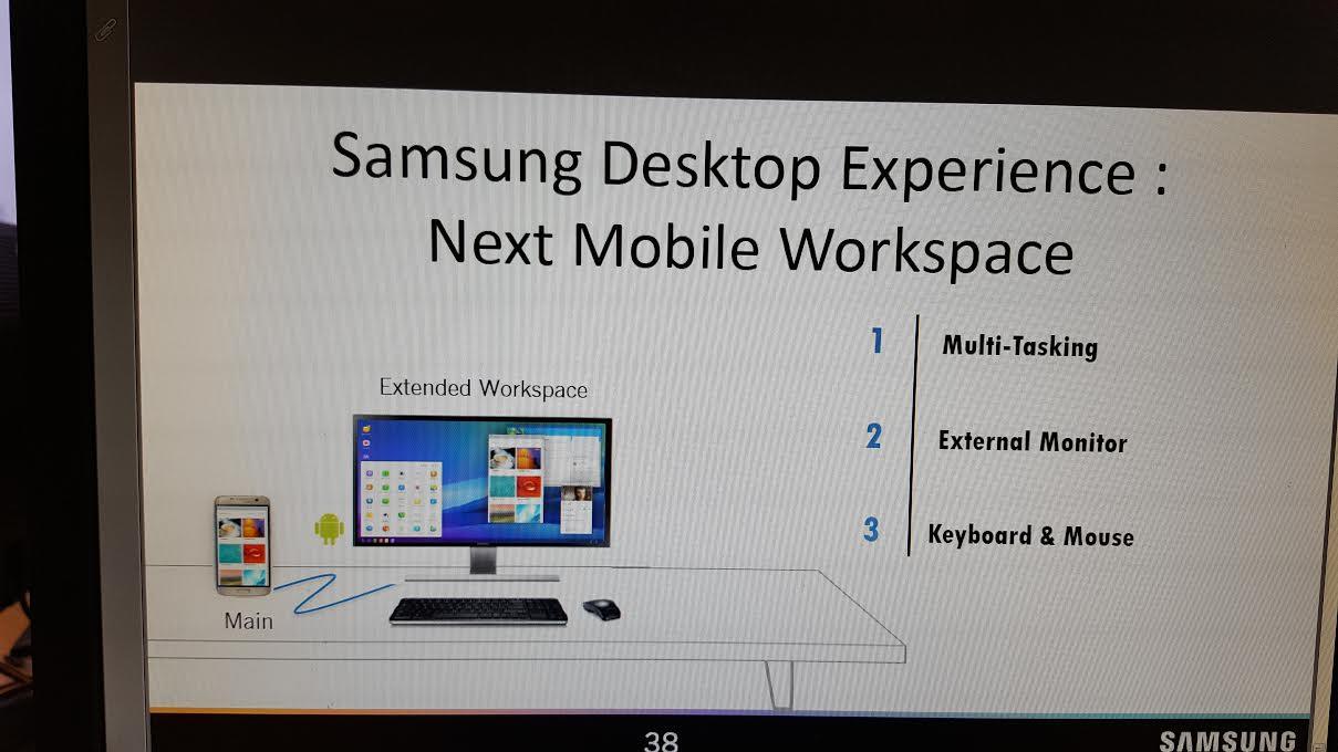 Tabletowo.pl Samsung zaoferuje w Galaxy S8 tryb, podobny do Continuum Microsoftu? Android Plotki / Przecieki Samsung Smartfony