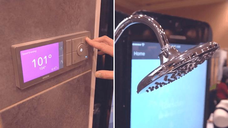 Idea smart home coraz bardziej wkracza na salony, a właściwie do łazienek, gdzie w przyszłości zagoszczą smart-prysznice 22
