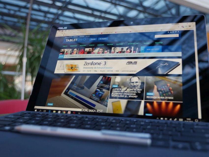 Tabletowo.pl Recenzja Asusa Transformer 3 Pro. Uniwersalne narzędzie pracy w terenie i w biurze? Asus Hybrydy Recenzje Tablety Windows