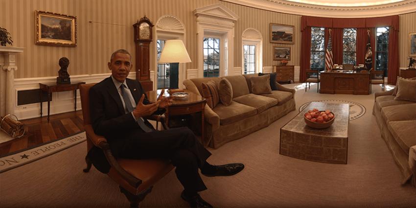 Tabletowo.pl Biały Dom. Był, w 360 stopniach widział Ciekawostki Wideo Wirtualna rzeczywistość