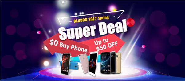 Tabletowo.pl Podczas BLUBOO Spring Festival jest szansa zdobycie jednego z 50 smartfonów za darmo Bluboo Promocje Smartfony