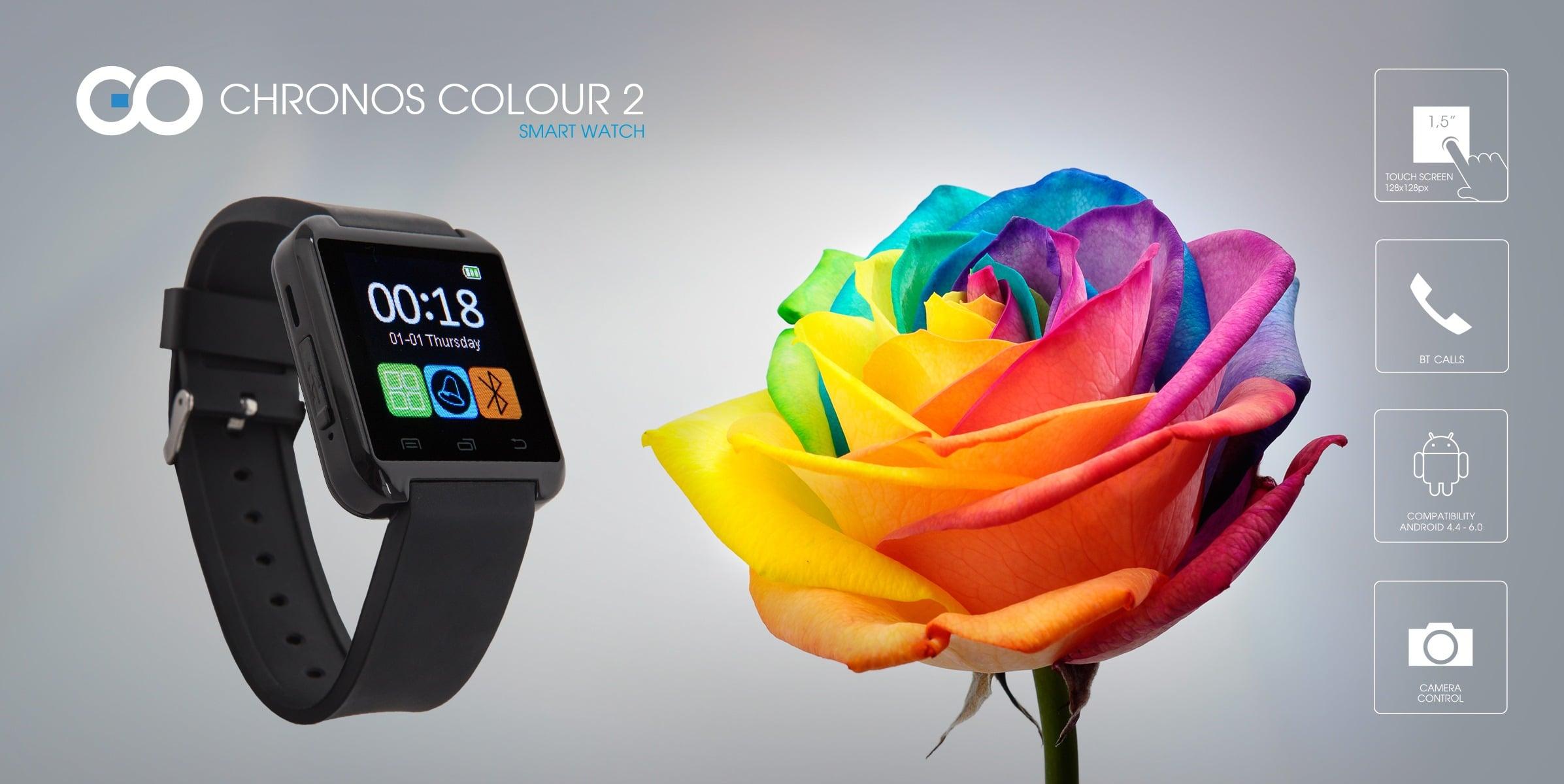 Dwa nowe smartwatche od GOCLEVER: Chronos Connect 2 i Chronos Colour 2 18