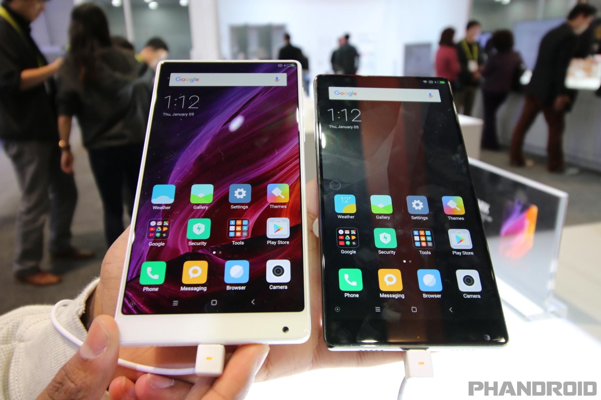 Xiaomi Odkryło Karty Na Ces 2017 I Zaprezentowało Białą