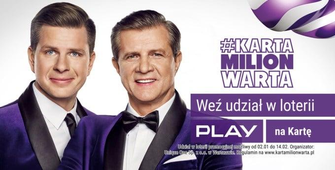 Tabletowo.pl Rusza nowa loteria sieci Play, czyli #KartaMilionWarta Ciekawostki GSM Krótko