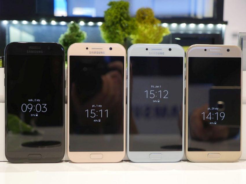 Średniopółkowce, ale prawie jak flagowce - jakie są nowe smartfony z zaprezentowanej serii Galaxy A 2017? 23