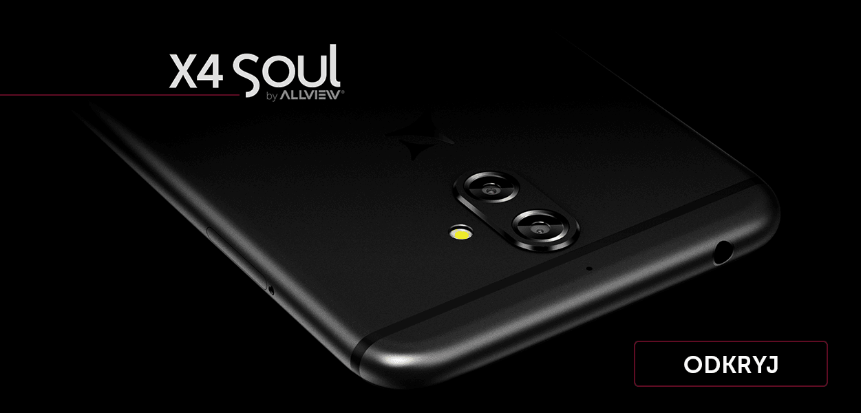 Allview X4 Soul debiutuje w Polsce. Dla pierwszej setki nabywców producent przygotował prezent 22
