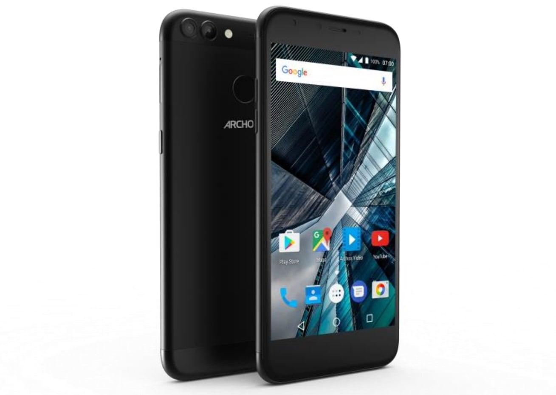 Tabletowo.pl Archos zapowiada 55 Graphite i 50 Graphite - tanie smartfony z podwójnymi aparatami Android Archos MWC 2017 Nowości Smartfony