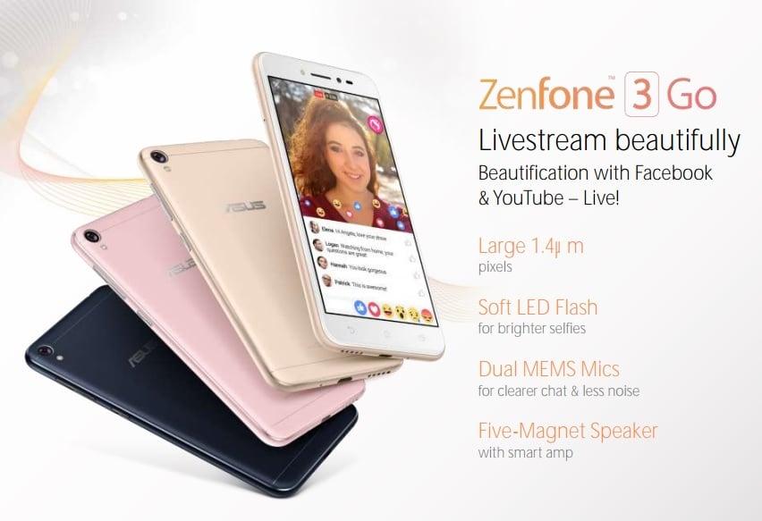 Asus ZenFone 3 Go zaoferuje specyfikację adekwatną do (niewygórowanej) ceny 19