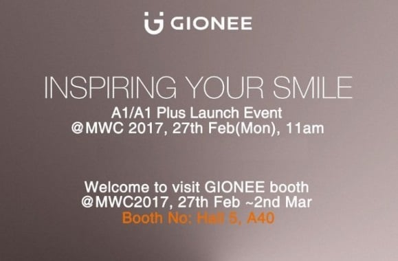 27 lutego Gionee zaprezentuje modele A1 i A1 Plus 18