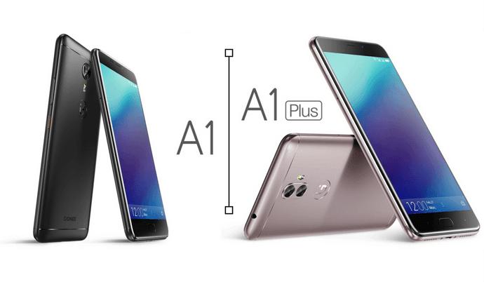 Tabletowo.pl Gionee zaprezentował absolutne must have dla fanów selfie: modele A1 i A1 Plus Android Chińskie MWC 2017 Nowości Smartfony
