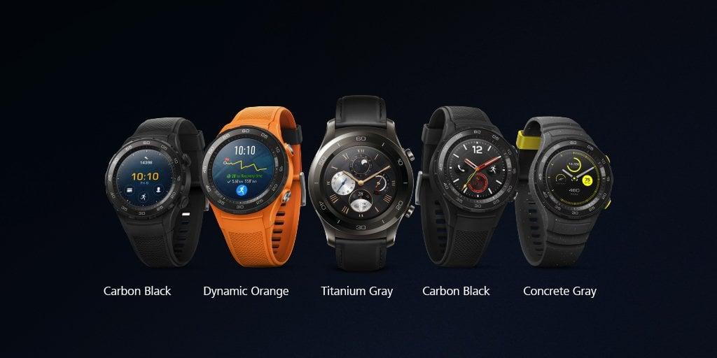 Tabletowo.pl Huawei prezentuje trzy smartwatche: Watch 2, Watch 2 Classic i Huawei smartwatch Huawei MWC 2017 Nowości Wearable