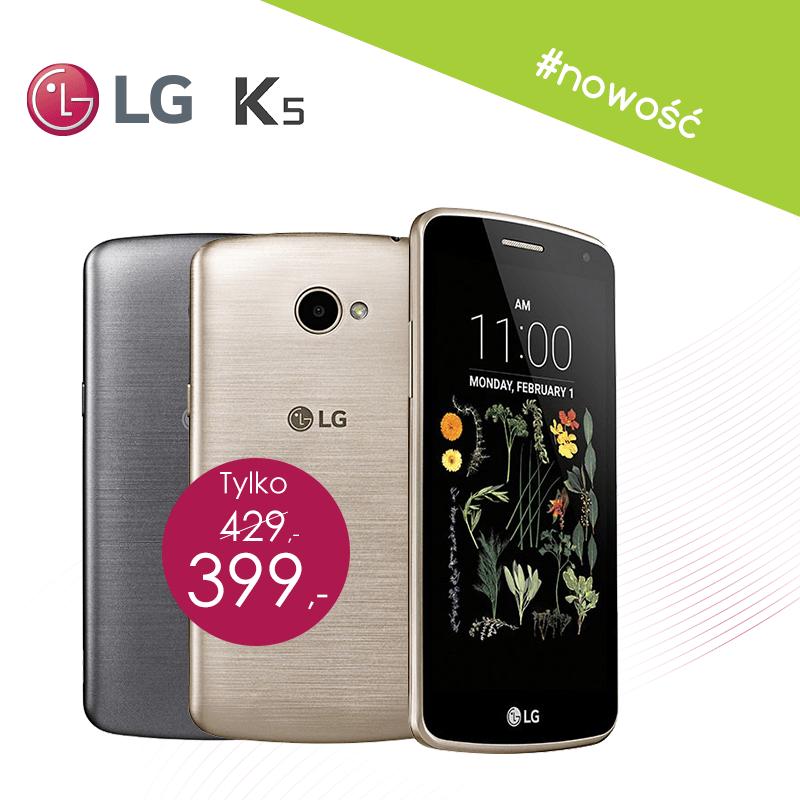 Tabletowo.pl LG K5 po niemal roku od oficjalnej premiery debiutuje w Polsce Android LG Smartfony