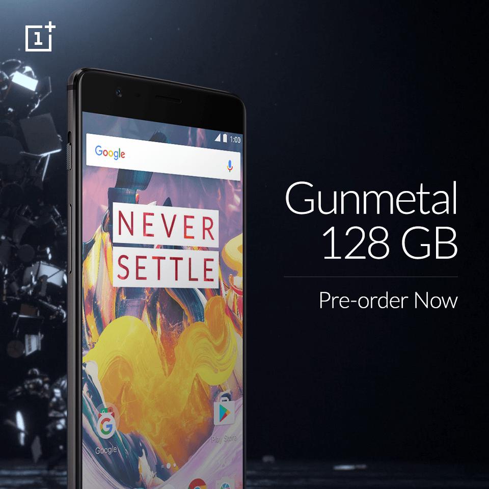 OnePlus 3T 128GB ponownie dostępny na stronie producenta 19
