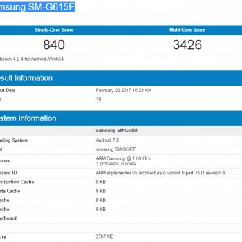 Tabletowo.pl Samsung szykuje 5,7-calowca z MediaTekiem Helio P20 i 3GB RAM Android Samsung Smartfony
