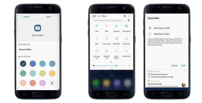 """Tabletowo.pl """"Bezpieczny Folder"""" dostępny (w końcu) dla użytkowników Galaxy S7 i Galaxy S7 Edge Android Aplikacje Nowości Samsung Smartfony"""