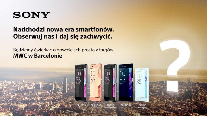 Sony zbroi się na MWC w Barcelonie 16