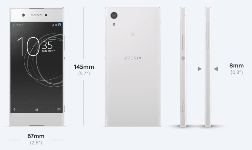 Oprócz Xperii XZ Premium, Sony zaprezentowało trzy inne smartfony - XZs i średniopółkowe XA1 i XA1 Ultra 24