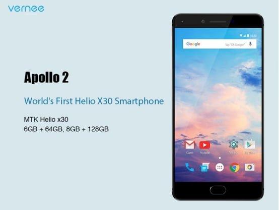 Vernee zaprezentuje na MWC 2017 pięć nowych smartfonów, w tym jeden z 8GB RAM 20