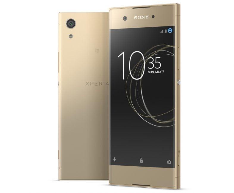 Oprócz Xperii XZ Premium, Sony zaprezentowało trzy inne smartfony - XZs i średniopółkowe XA1 i XA1 Ultra 21