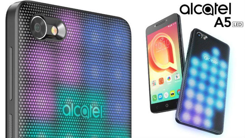 Alcatel ma nowy pomysł na smartfon dla młodych - A5 LED z interaktywną obudową 21