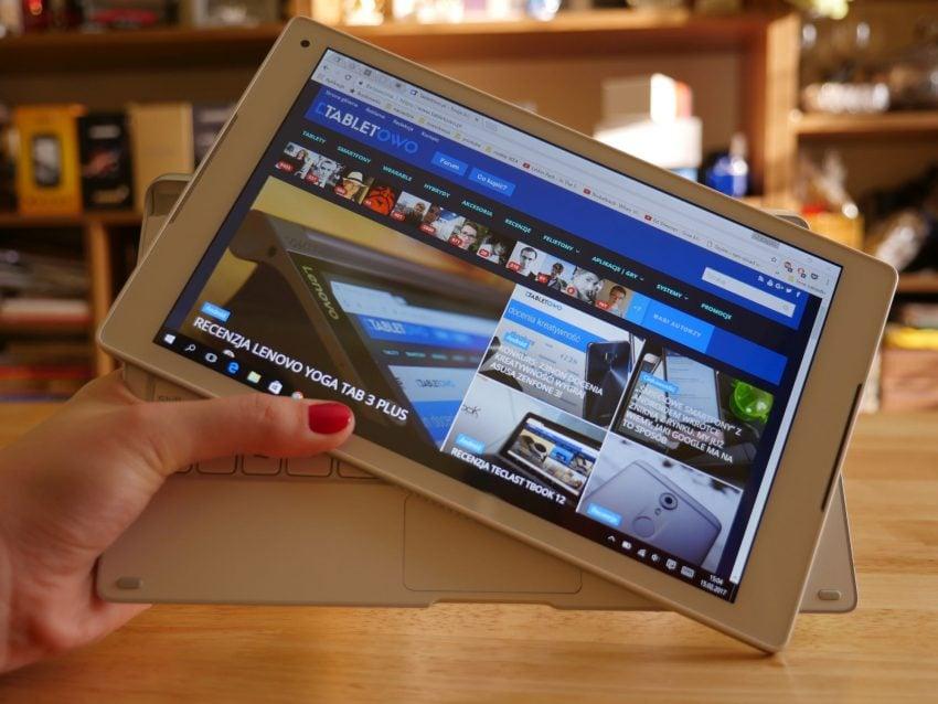 Tabletowo.pl Recenzja Alcatela Plus 10 Alcatel Hybrydy Recenzje Tablety Windows