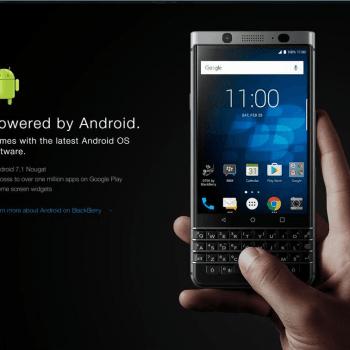 BlackBerry prezentuje swój nowy smartfon z klawiaturą QWERTY: KEYone (Mercury) 27