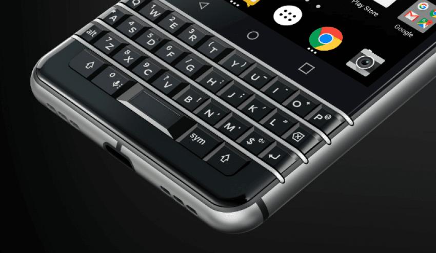 BlackBerry prezentuje swój nowy smartfon z klawiaturą QWERTY: KEYone (Mercury) 18