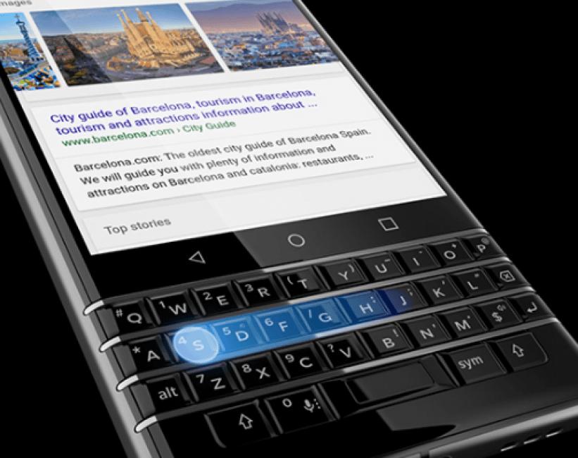 BlackBerry prezentuje swój nowy smartfon z klawiaturą QWERTY: KEYone (Mercury) 21