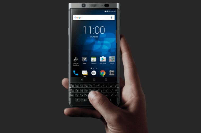 BlackBerry prezentuje swój nowy smartfon z klawiaturą QWERTY: KEYone (Mercury) 26