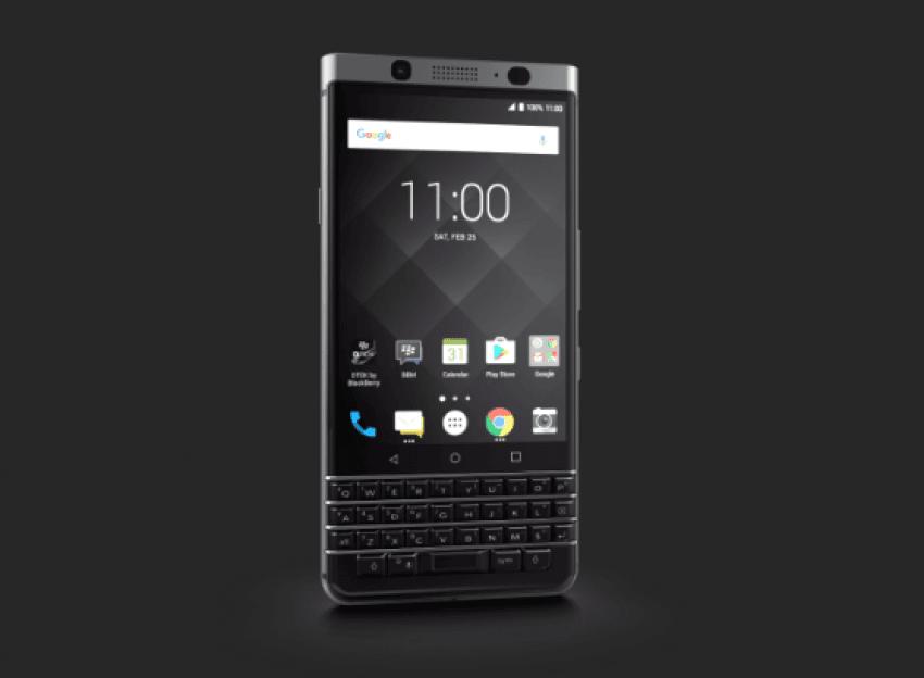 BlackBerry prezentuje swój nowy smartfon z klawiaturą QWERTY: KEYone (Mercury) 16