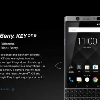 BlackBerry prezentuje swój nowy smartfon z klawiaturą QWERTY: KEYone (Mercury) 29
