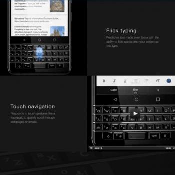 BlackBerry prezentuje swój nowy smartfon z klawiaturą QWERTY: KEYone (Mercury) 30