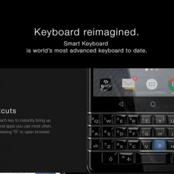BlackBerry prezentuje swój nowy smartfon z klawiaturą QWERTY: KEYone (Mercury) 32