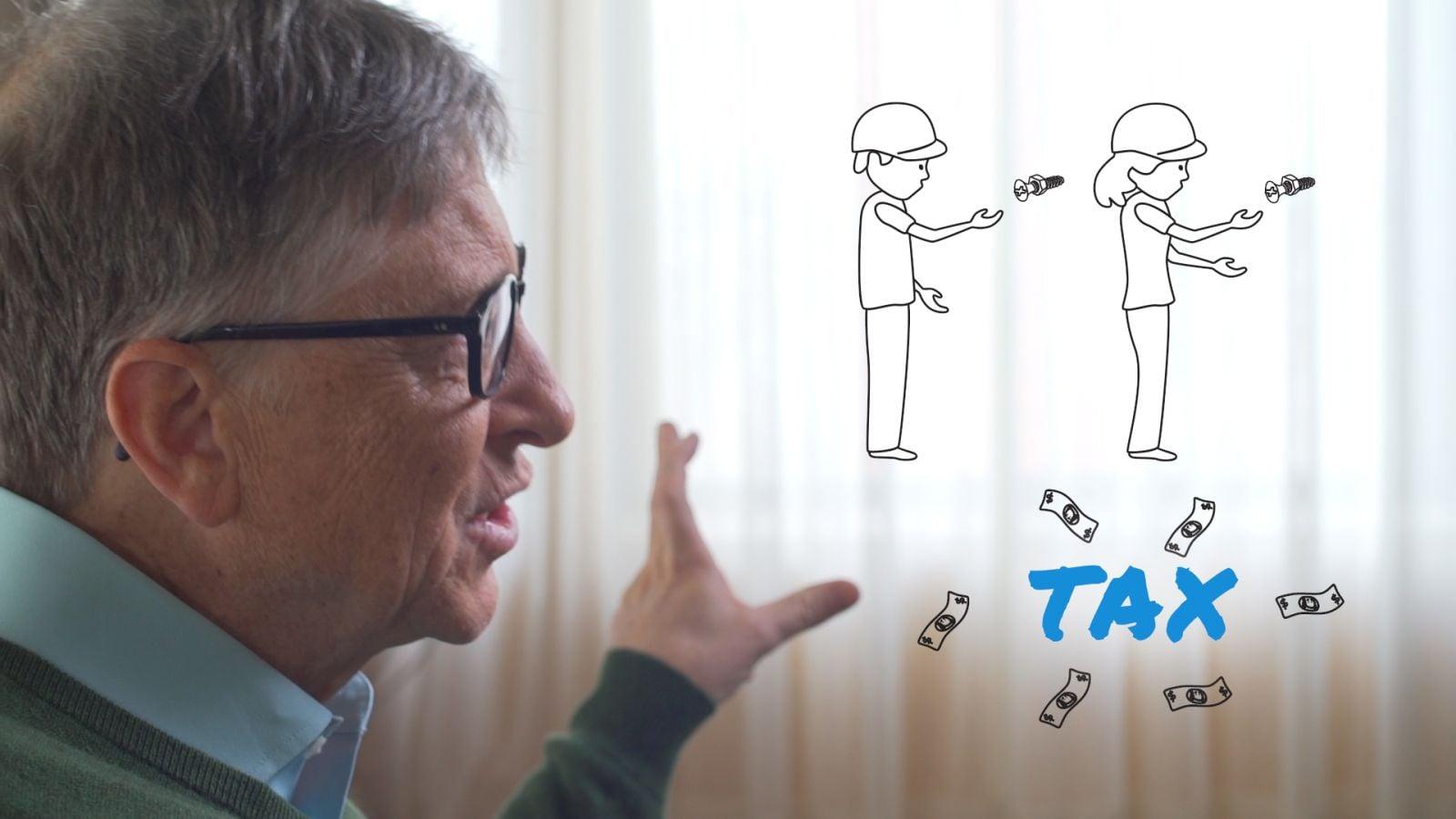 Tabletowo.pl Zdaniem Billa Gatesa, roboty zastępujące ludzi w pracy powinny zostać opodatkowane Ciekawostki Technologie