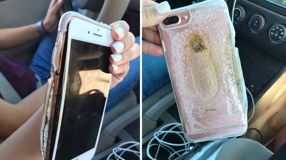 iPhone 7 Plus jednego dnia zdaje test diagnostyczny, a następnego zaczyna się palić 19
