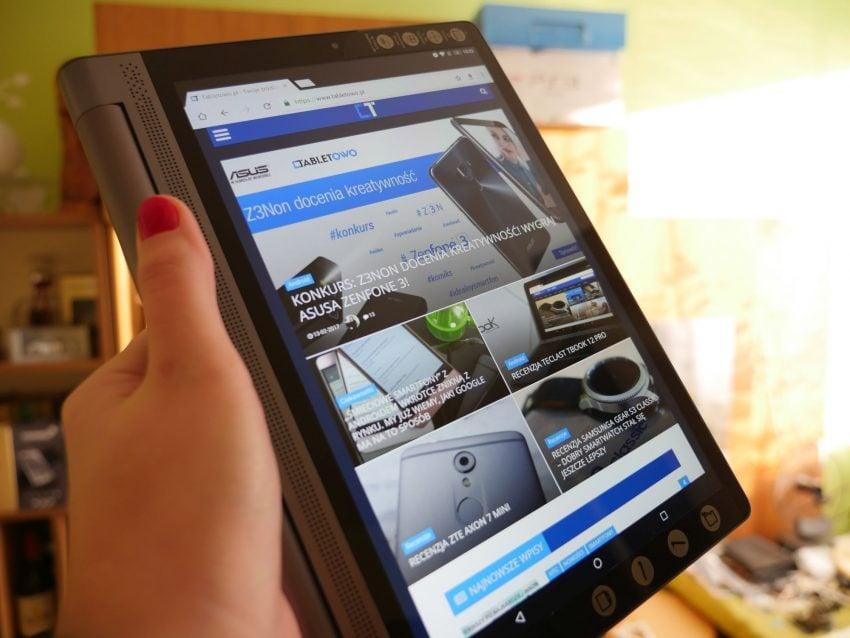 Recenzja Lenovo Yoga Tab 3 Plus 32