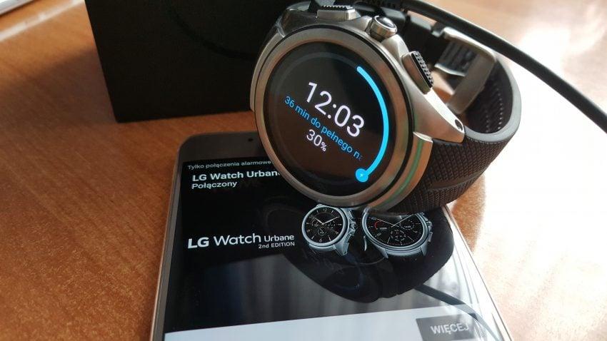 Recenzja LG Watch Urbane 2nd Edition 24