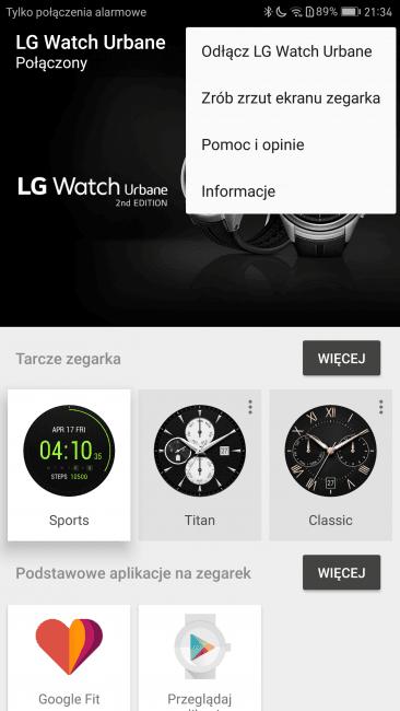 Recenzja LG Watch Urbane 2nd Edition 29