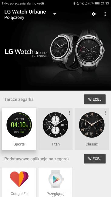 Recenzja LG Watch Urbane 2nd Edition 30