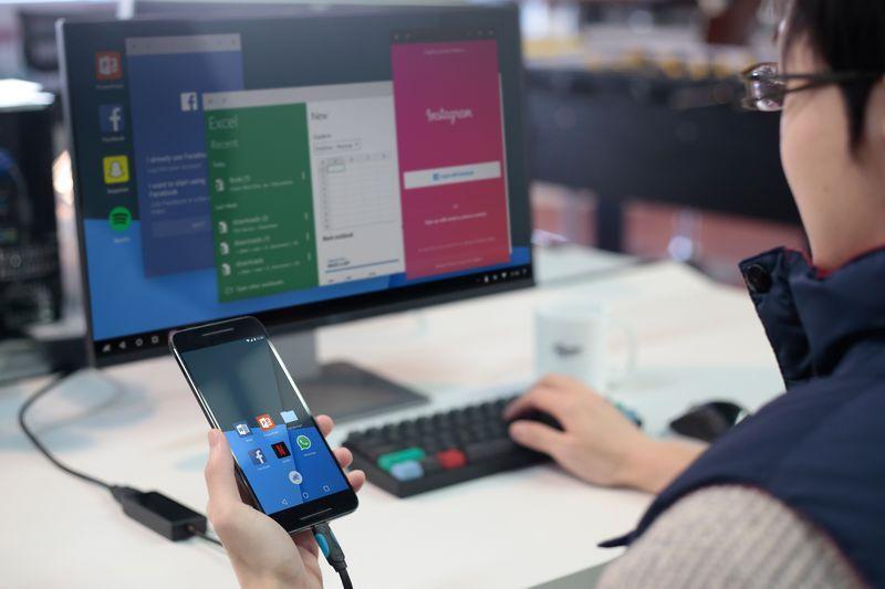 Remix Singularity zmieni smartfon z Androidem w podłączany do monitora komputer 22